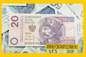 PLN pénznem valuta árfolyam